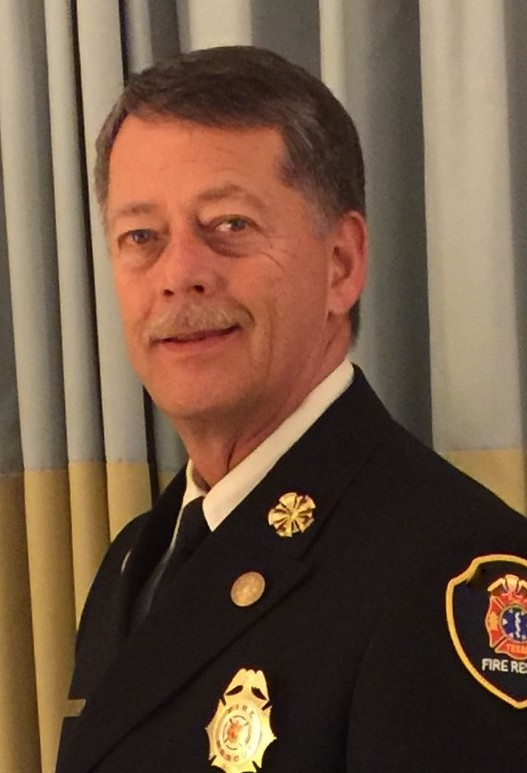 10-1 Fire Chief Gary Warren