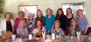 Recherche members get together for a luncheon at Frenchy's in Clear Lake. They are, from left, front, Barbara Phillips, Alice Marinos, Ann O'Malley, Charlene Miller; back row, Mary Alys Cherry, Dollie McAlpin, Peggy Morrow, Mary Ann Shallberg, Kippy Caraway, Marcelle Lovfald Ho and Audrey Lovfald.