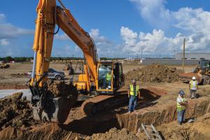 Stadium Construction is Underway