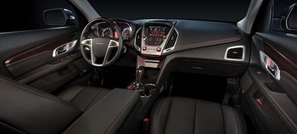The Denali's sleek interior.