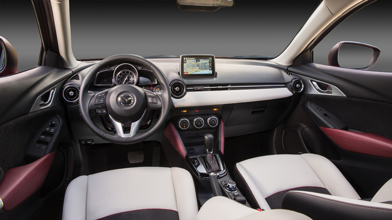 Interior of CX-3