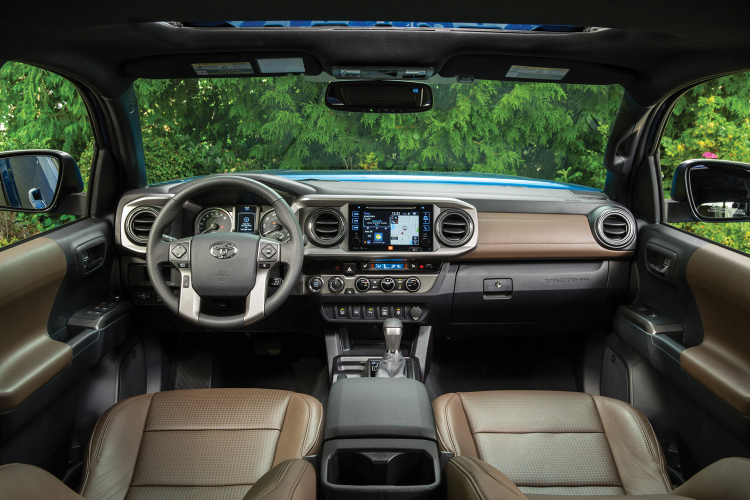 Interior of the 2016 Tacoma.