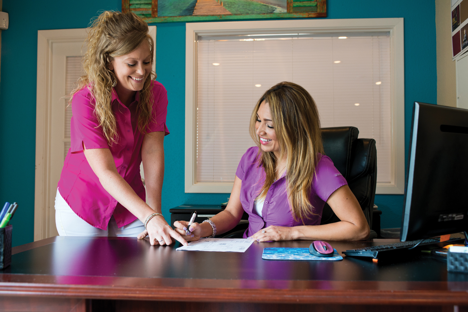 The professional office staff can assist you with your apartment needs.
