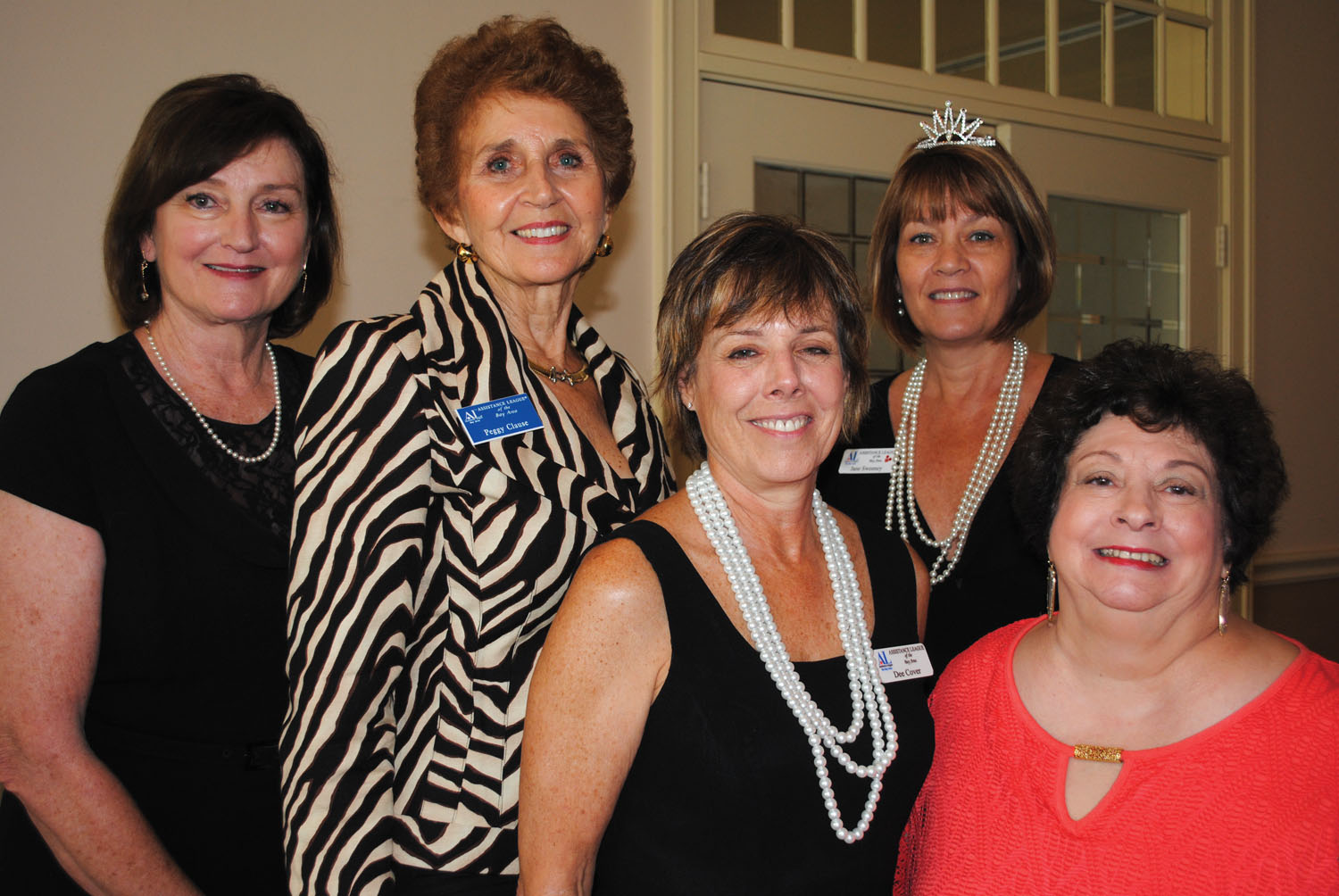New Assistance League officers get together for a photo op as a new year begins. They are, from left, Secretary Ginger Darnell, President Peggy Clause, President-elect Dee Cover, Treasurer Jane Sweeney and Parliamentarian Sharon Dillard.