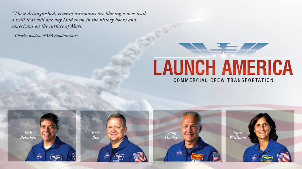 8-1 Four astronauts