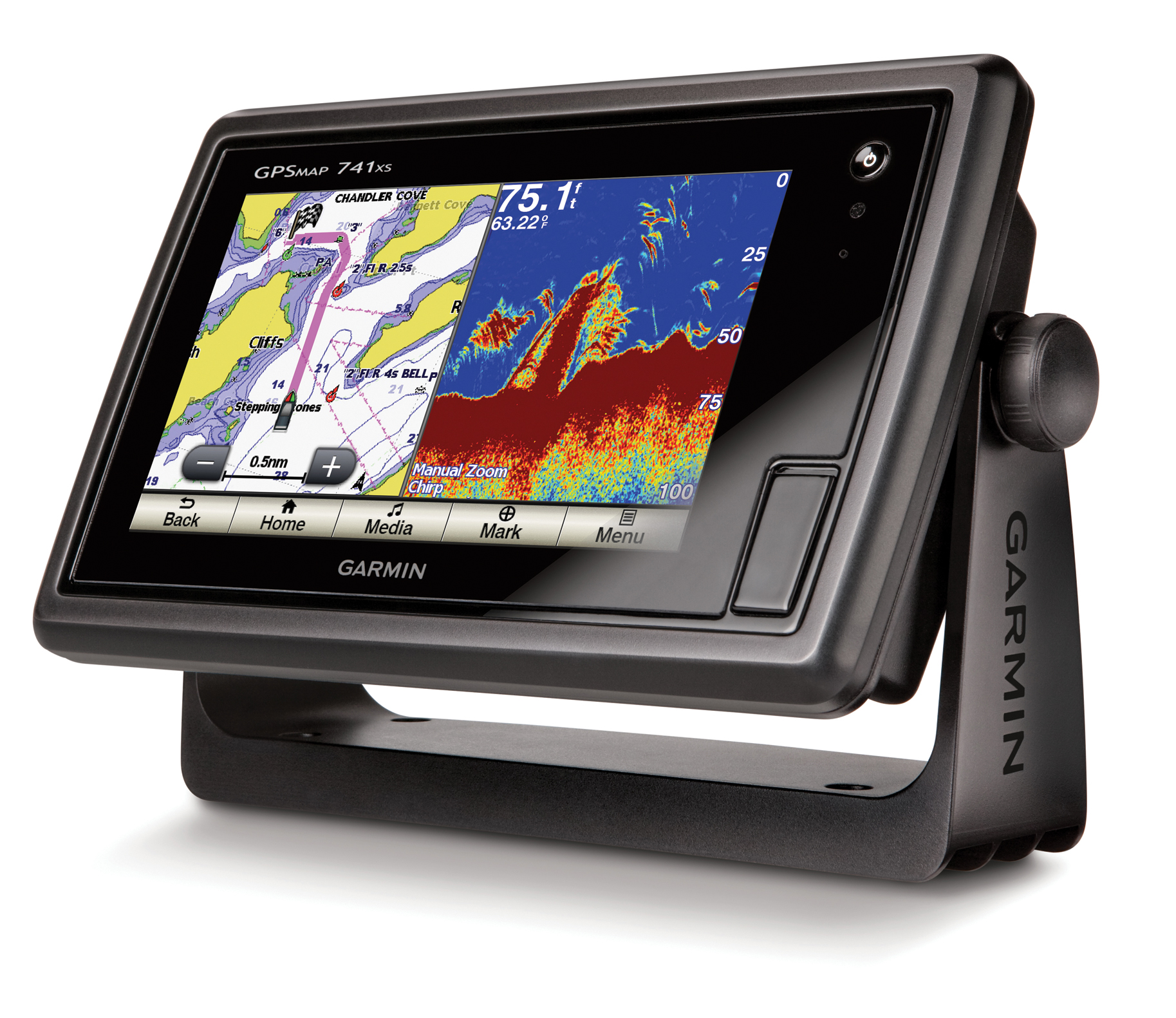 Electronics like the Garmin® GPSMAP® 500 and 700 Series Chartplotter and combo units are a far cry from marine electronics of the 1970s.