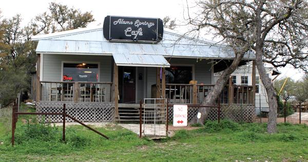 The Alamo Springs Café