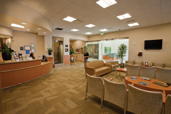 MHSE cancer center lobby