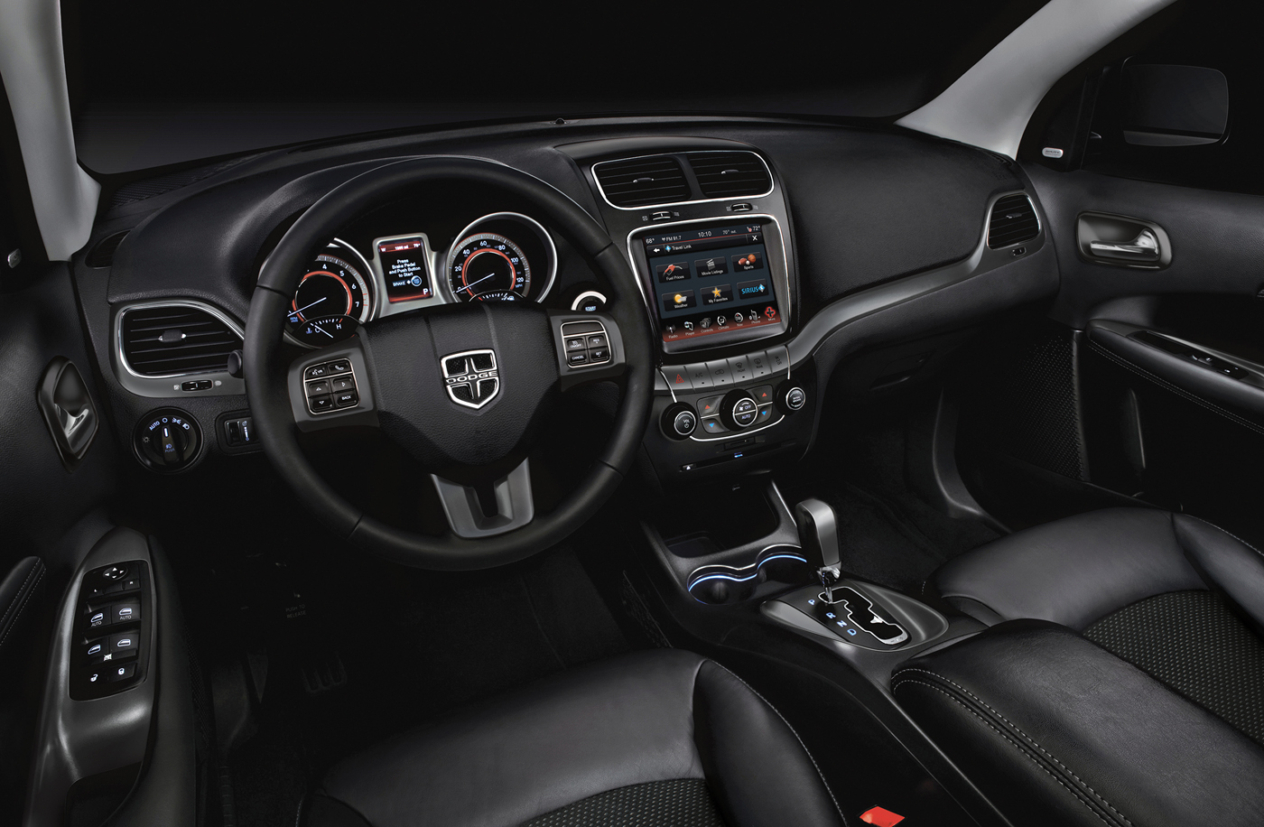 2016 Dodge Journey Crossroad Plus interior