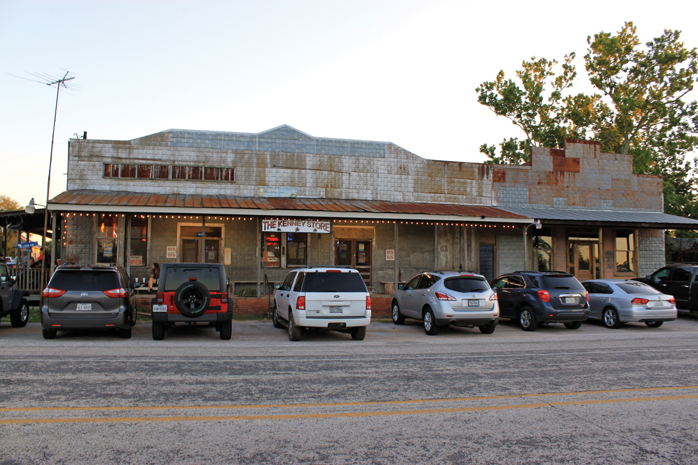The Leakey Merchantile-A true Texas general store with beer, groceries, clothing, camping supplies, ammo and bait.