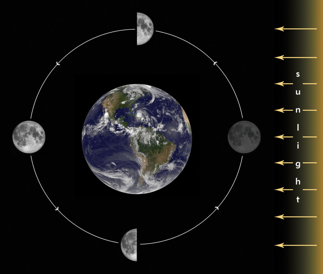Tides how they work on their effect on fishing bay area for Fishing moon phase