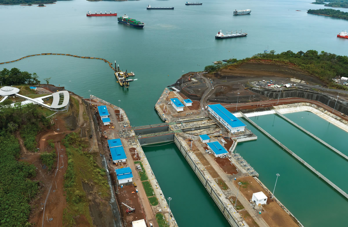 The Panama Canal. (Photo micanaldepanama.com)