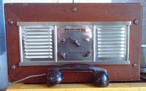 Ray-Jefferson Model 410 Marine Radiotelephone