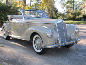 1954 Mercedes 220A Cabriolet - owner Ray Bruck